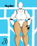 Haydee cutie with a round booty by Cogs-Fixmore