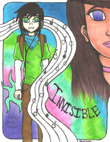 .:INVISIBLE Comic Cover:. by PrennCooder