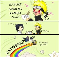Sasuke, grab my... by Gaara-SasuNaru-fan