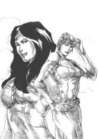 Wonder Woman Agent Diana Prince by cric