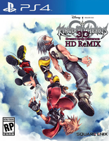 Kingdom Hearts 3D HD ReMix PS4 (Idea) by Varimarthas5