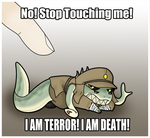 Stop Touching Me! by TheAngryFishbed