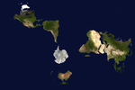 Antartica-centric map projection by wizardofosmond