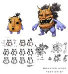 Monster Hero Test Brief by Kyomu
