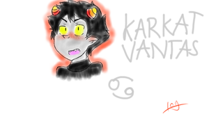 Karkat Vantas by shadowthehedgehog109