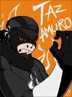 Request : Taz Amuro for Pyomega-Therapy by doramsc