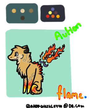 Flame Auction [Closed] by asdfghjkl0440