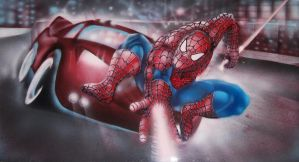 spiderman by ozzone