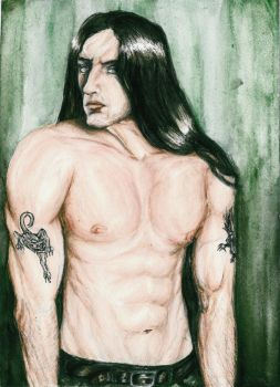 Green Man- Peter Steele by Sass-Haunted