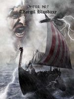 Cover design for the second book by thecasperart
