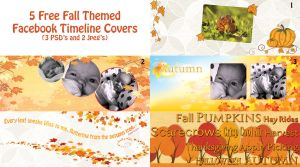 Autumn Themed Facebook Covers by DesiraeR