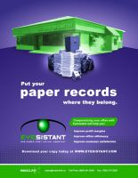 Put your paper records... by CoryWayDesign