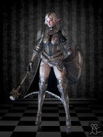 Bless Online - Miriel (custom female Elf) by Sticklove