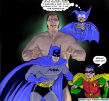 TLIID 253 Andre the Giant v Batman and Bat-mite by Nick-Perks