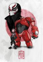 Big Hero 6 by dIk-ThePrince