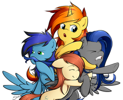 Cutie art crusaders - friendship is suffocating by secret-pony