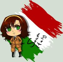 South Italy Genderbend Chibi by rosey-so-silly