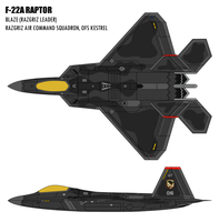 F-22A - The Ghosts of Razgriz by BoggeyDan
