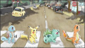 The Kanto Side of Abbey Road by MissNeens