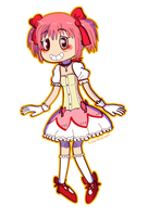Our Lord and Savior, Madoka by TouchPadArt