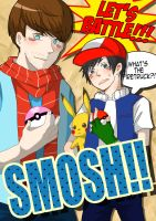 ::SMOSH:: Let's Battle by NaOH-giveup