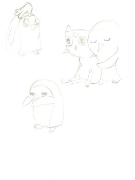 Gunter Sketches by charli3brav0