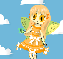 Fairy-chan [gift] by Rosellaz