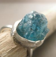 Aqua ring by Jealousydesign