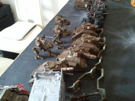 imperial guard astra militarum deployment 2 by skincoffin