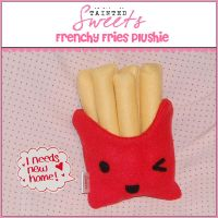 Frenchy Fries Plush by danger0usangel03