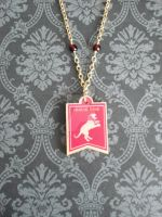 GOT House Lannister Necklace by AriesNamarie