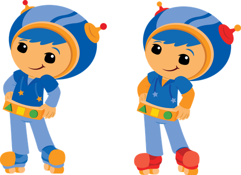 Team Umizoomi Redesigns: Geo by ChameleonCove