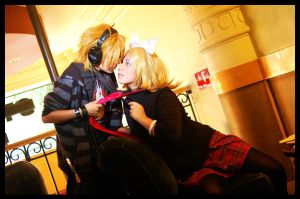 'Only mine' Len y Rin Kagamine by SanctusIX
