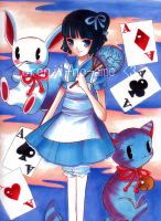 Alice in Japan-Land by orenji-no-ame