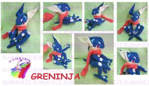GRENINJA PLUSH by chocoloverx3