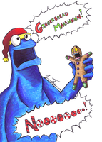 G is for Gingerbread Man by TipsyMcBoozerton