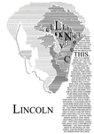 Lincoln typograpghy by tuonenjoutsen