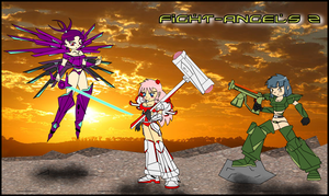 Fight Angels Z - Transformed by leviathan-ran