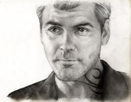 George Clooney as Seth Gecko by YannWeaponX