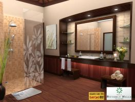 BathroomBeverlyHillsVillaBali by satriobajuhitam