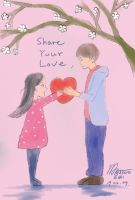 Share Your Love - Valentine`s Day by MasanoEshi