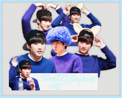 Pack PNG #104: B1A4's JinYoung by jimikwon2518