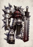 Ogre Knight A by DNA-1
