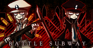 battle X subway by BETA24