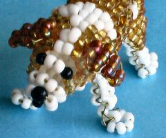 Beaded Saint Bernard by Craftcove