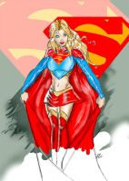 supergirl by Riguz