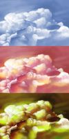 Cloud Studies by Beth-Gilbert