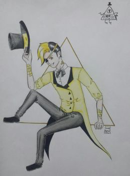Bill Cipher by SweetPosion-Chan