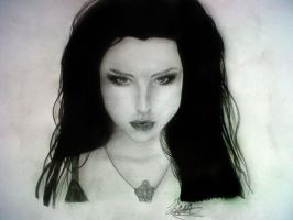 Amy Lee by SugarBones2502
