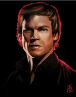 Dexter Morgan by Aedrian